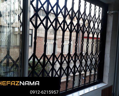 جنس آهن و پروفیل حفاظ پنجره بالکن ها