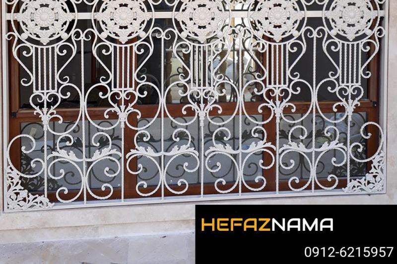 طراحی حفاظ آهنی پنجره های upvc