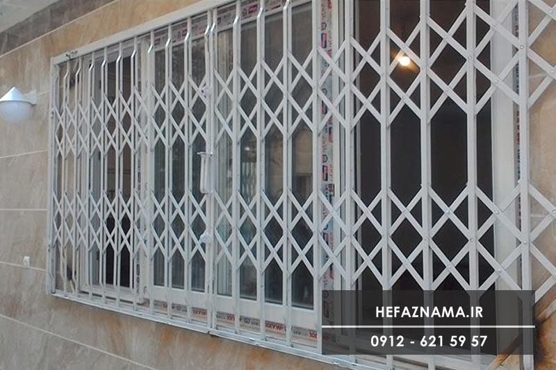 رنگ حفاظ پنجره بر اساس نمای ساختمان