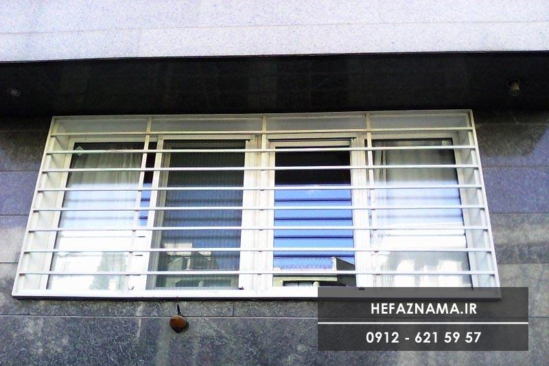 روش-رنگ-آمیزی-حفاظ-های-پنجره