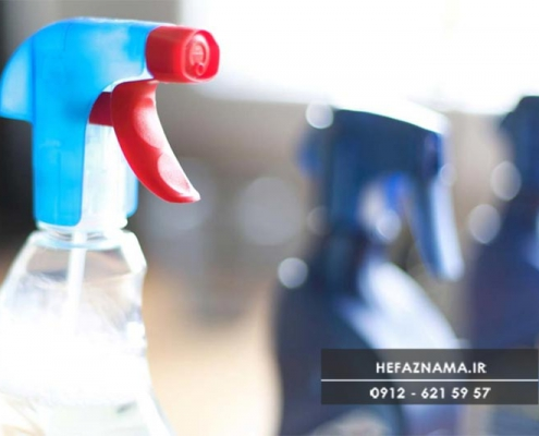 اهمیت الکل در ضدعفونی کردن حفاظ پنجره