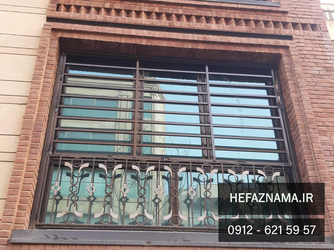 نرده حفاظ پنجره-حفاظ نما