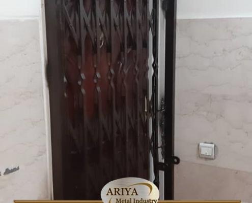 نصب درب آکاردئونی - حفاظ نما